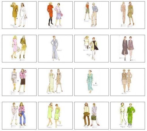 Sewing Patterns for the Autumn
