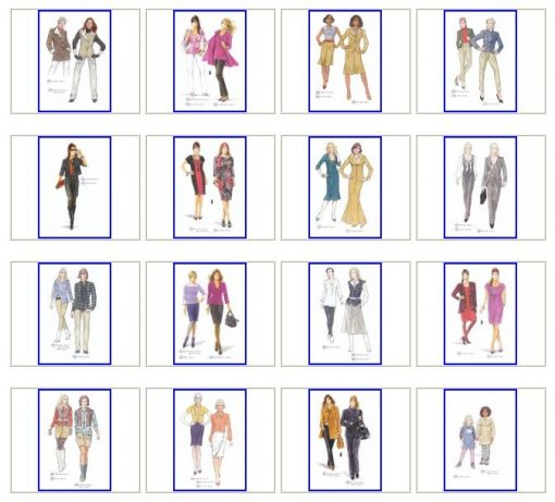 Sewing patterns winter
