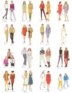 Sewing Patterns Supplement 286