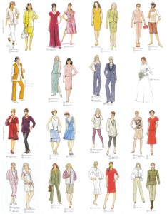 76 fashion styles & sewing pattern designs for fuller figure