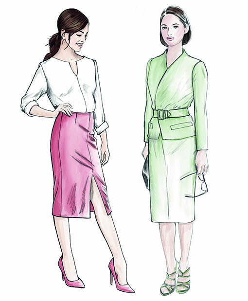Sewing Pattern Collection Winter/Spring 2017/2018 Supplement No. 307