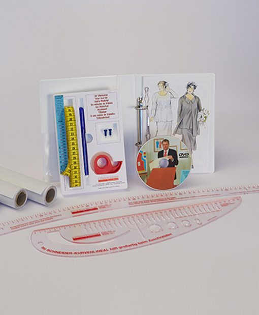Sewing Pattern Making System XL/XXL Version incl. Rulers and 4 Rolls ...