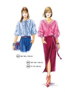 Sewing Patterns from Supplement 302