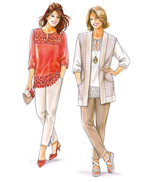 Sewing Patterns No. 8, 9 & 10