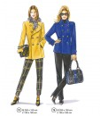 Sewing Patterns Models 75 and 76 from Supplement 291 Trousers and Jackets