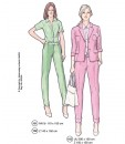 Sewing Patterns Trouser, Blouse and Jacket. Model 101-103 Sup 293