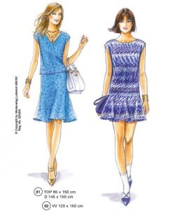 Dresspatterns No. 81 and 82