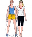 Sewing Patterns for shorts, legging and tops, models 33-36