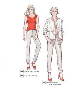 Sewing Patterns for Trouser, Top andJ Jacket, Model 94,95 and 96, Supplement 293