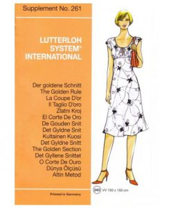 Sewing Patterns for the summer from May Supplement 261 2006