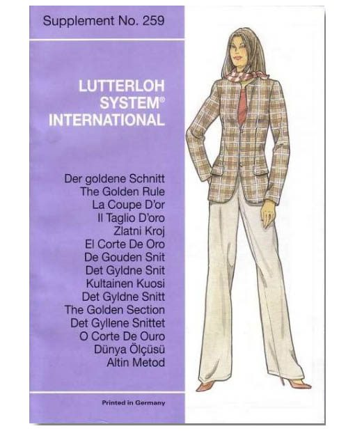 Sewing Patterns for the Winter season from November Supplement No. 259 2005