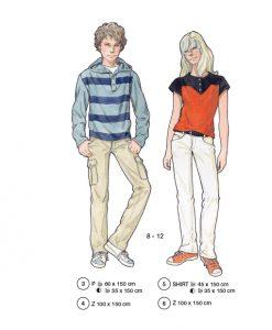 children sewing patterns no. 3-6