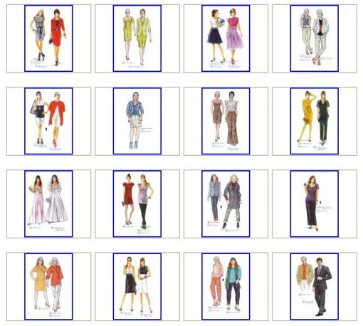 Sewing patterns for Spring